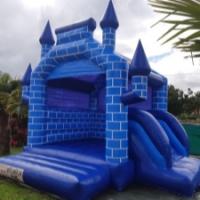 Château gonflable Château bleu - 50€